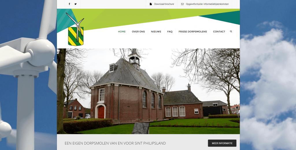 Dorpsmolen Sint Philipsland (website)