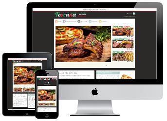Responsive webshop Toscana Axel inclusief koppeling kassa
