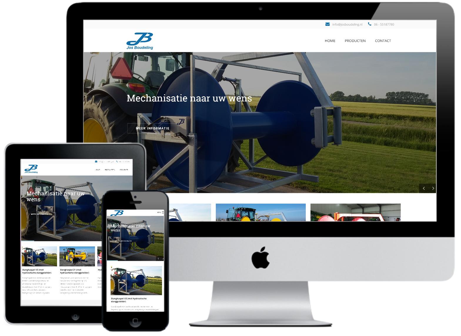 Responsive webdesign Jos Boudeling