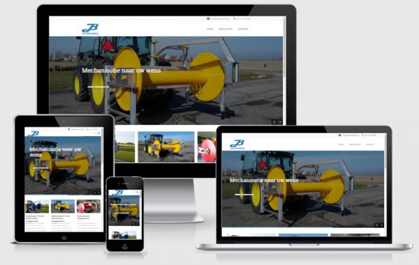 Responsive website Jos Boudeling