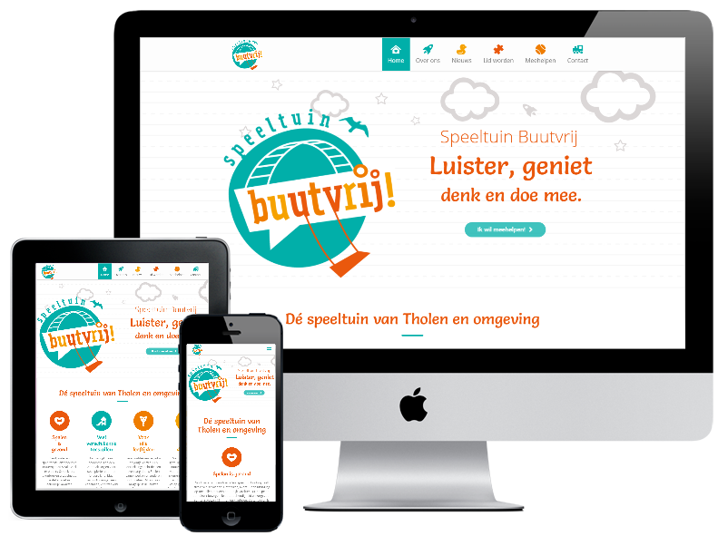 Website Speeltuin Buutvrij Tholen