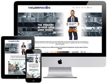 The Lean Machine Responsive Webdesign