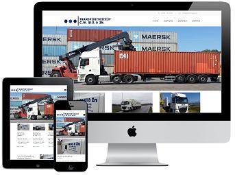 Website Responsive Transportbedrijf C.W. Bijl & Zn Sint-Maartensdijk
