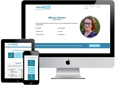 Portfolio Responsive Webdesign Bianca Jansen Juridisch Advies & Training