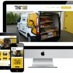 Responsive webdesign Noten, Kaas & Eieren Bakker Tholen