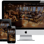 Responsive webdesign voor Ortam BBQ Restaurant Rotterdam
