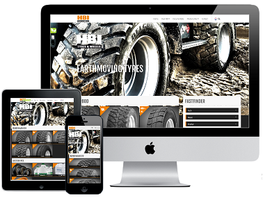 HBI Tyres & Wheels responsive website