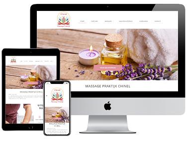 Responsive Website Massage Praktijk Chinel