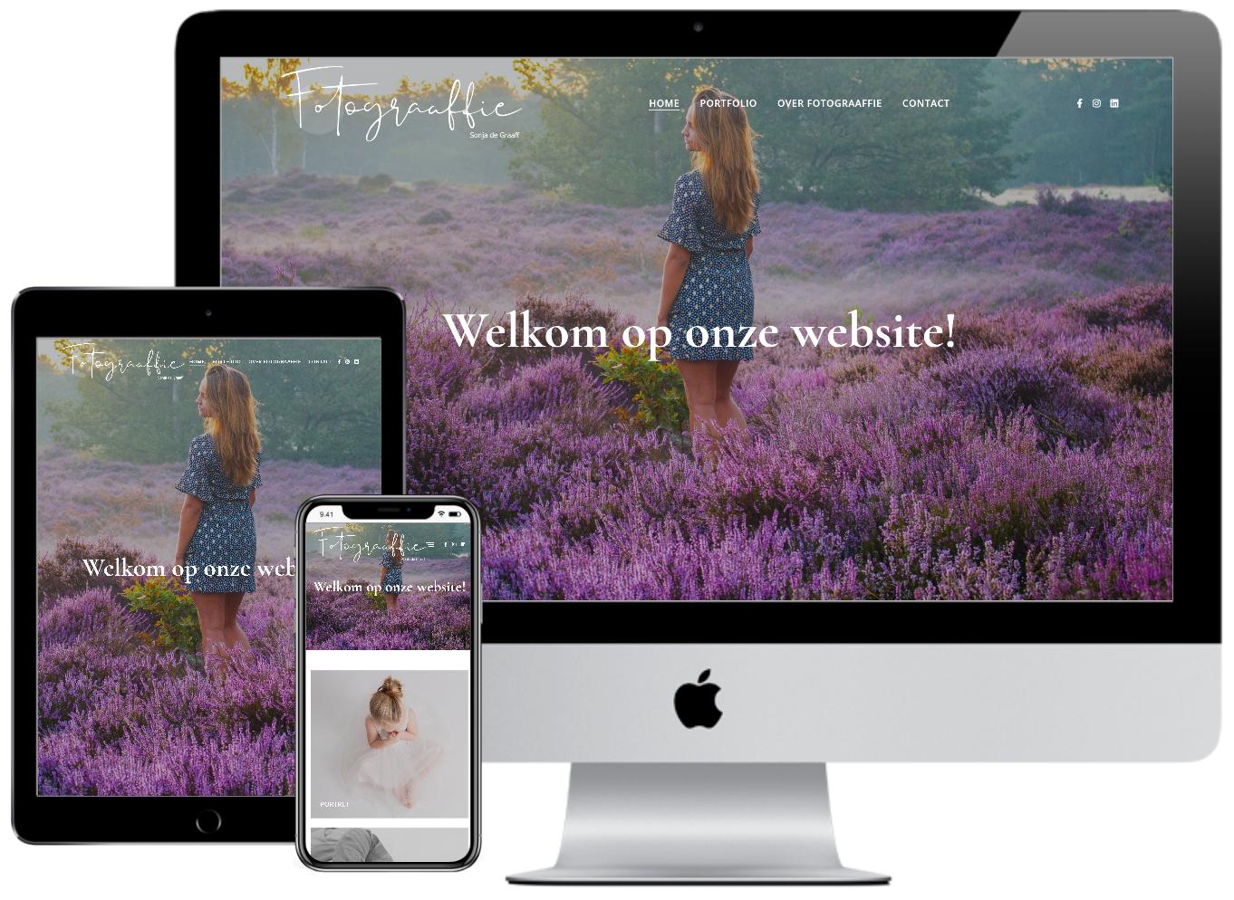 repsonsive website Fotograaffie Tholen