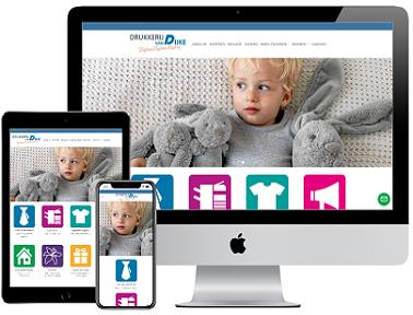 Responsive website Drukkerij van Dijke Steenbergen