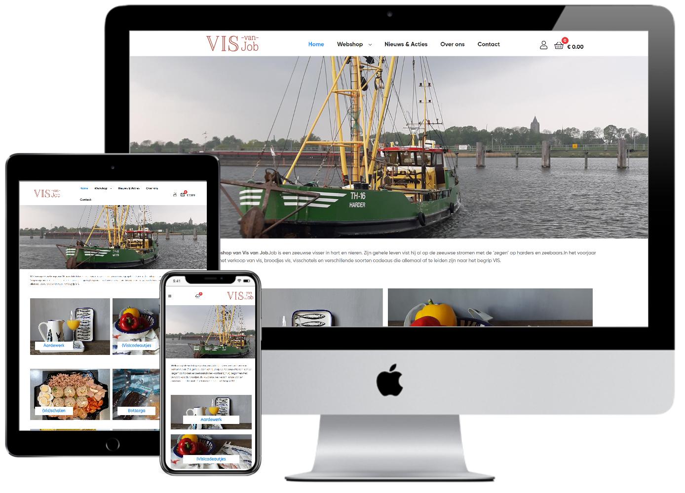 responsive-webshop-vis-van-job