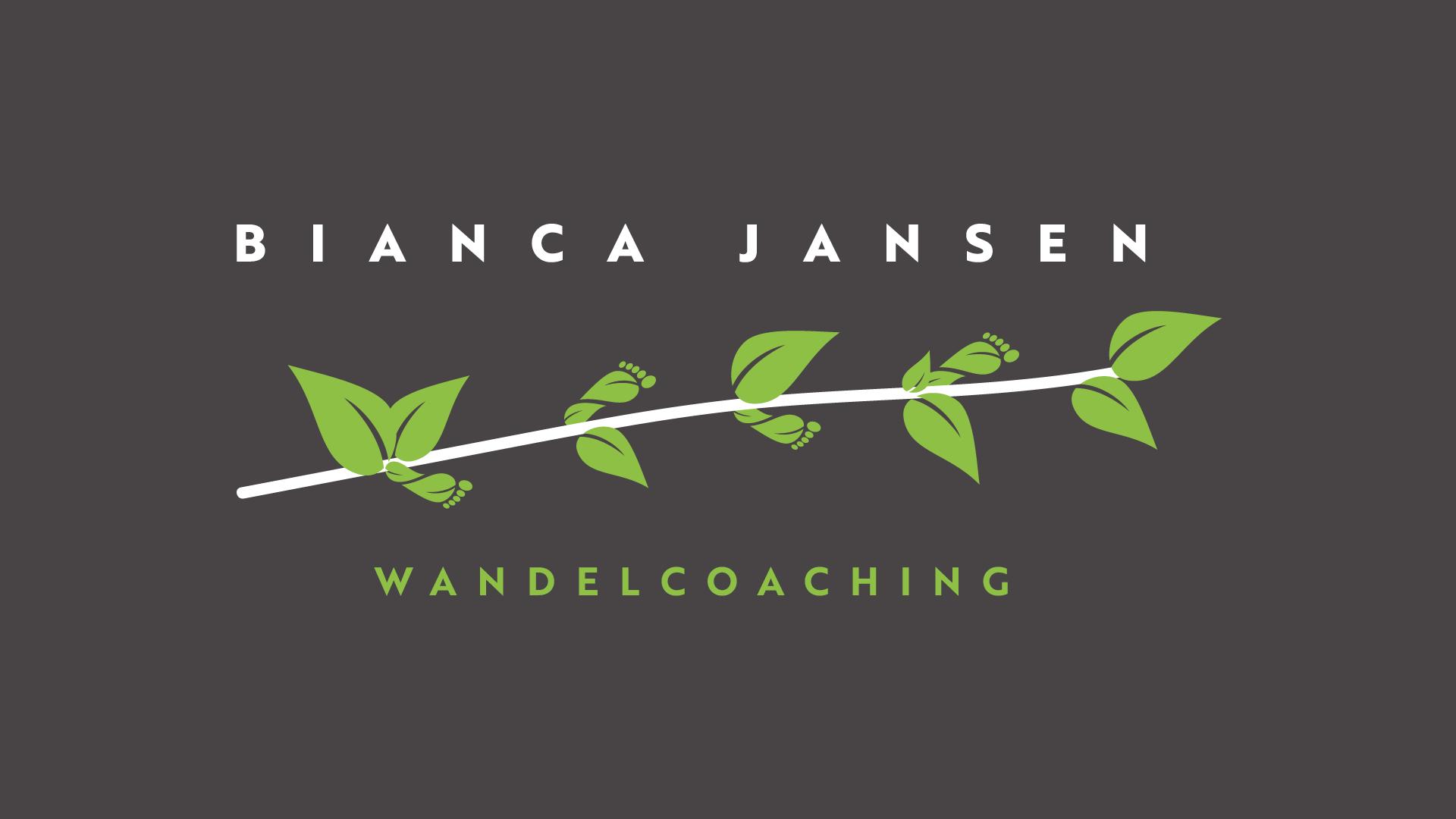 Bianca Jansen Wandelcoaching logo