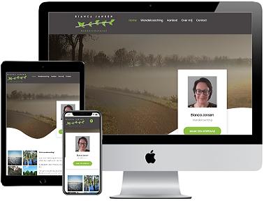 Bianca Jansen Wandelcoaching webdesign