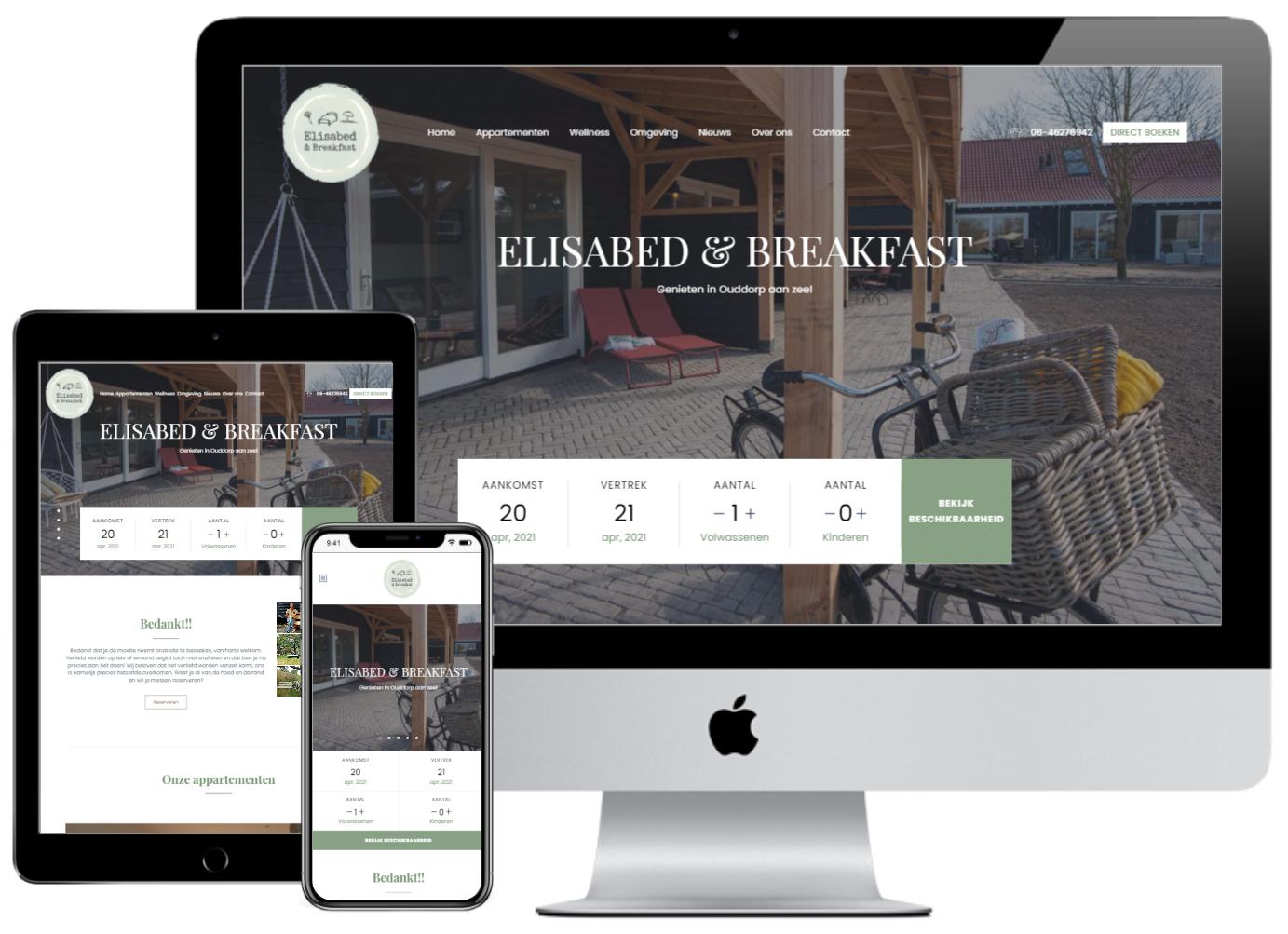 Elisabed & Breakfast Ouddorp